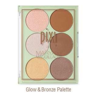 Authentic Pixi Strobe & Bronze palette