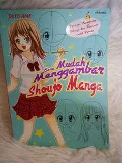 buku cara cepat menggambar manga