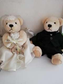 Sasha's Wedding Bear