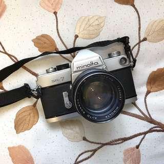 Minolta SR-7 Film camera