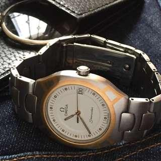 FOR SALE- Unusual Omega Midsized Unisex Dress Watch