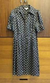 🚚 MK 復古風洋裝