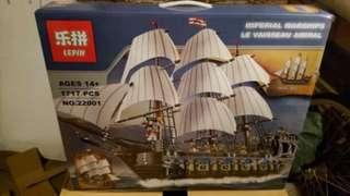 Brand new available now not pre order scams 22001 imperial flagship ship compatible with Lego