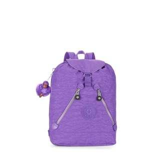 BNWT Kipling Fundamental Backpack in Vivid Purple