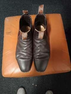 R M Williams boots brown