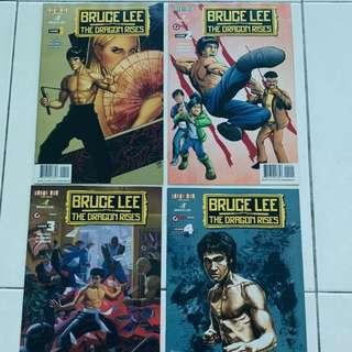 Official BRUCE LEE comic from US Bruce Lee estate 4 copies (volume 1-4)