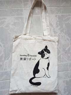The Travelling Cat Chronicles Exclusive Canvas Tote Bag