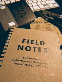 Field Notes 56-Weeks Planner