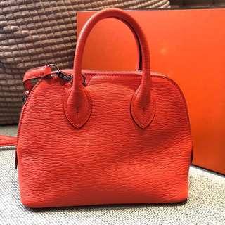 🚚 Hermès mini bolide 橘色近全新