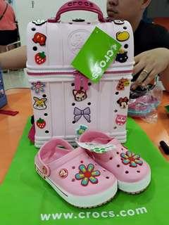 e1a1313f2029c3 Croc ziptop bag with FREE clog shoes