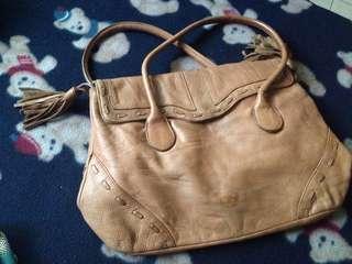 Literation Shoulder Bag Khali Faux Leather