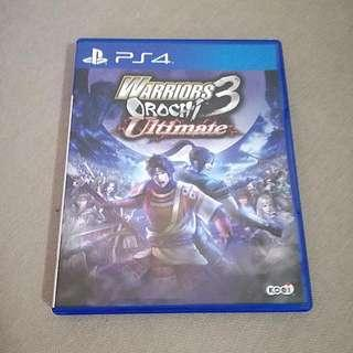 PS4 Warriors Orochi 3 Ultimate (Sell or swap)