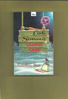 Malay Novel Cinta Semanis Carrot Cake
