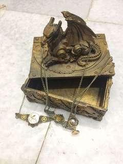 Steampunk Take All (Box and Necklace)