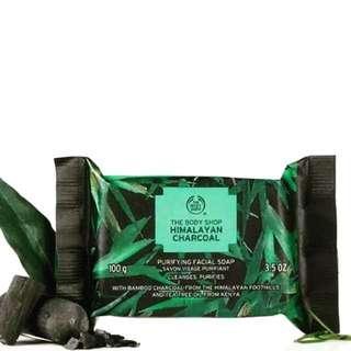 Body shop himalayan bamboo charcoal tea tree soap