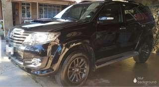2015 Toyota Fortuner 4x2 A/T