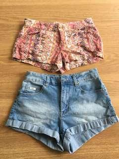 Shorts 2 for $5