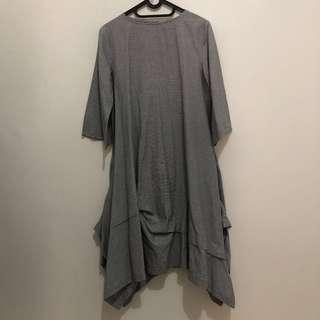 [PRELOVED] Dress Kotak-Kotak