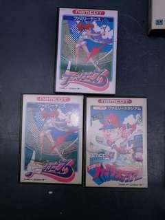 80年代紅白機 遊戲帶三盒 , 全部說明書齊全 保存狀況良好$150 三件全走情況自己睇相相片己反映真實情況, 全部物件已做清潔 $150=3
