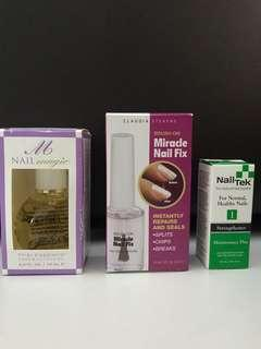 <Price for all> Nail Fix, Nail Magic Thai Essence Hand & Cuticle Oil & Nail Tek Strengthener