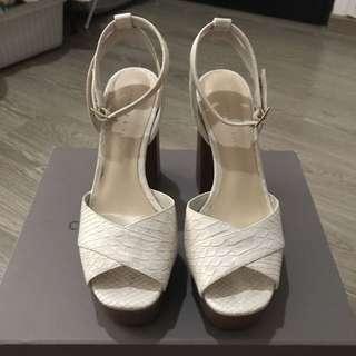 Heels/Platforms/Open toe/Ankle strap