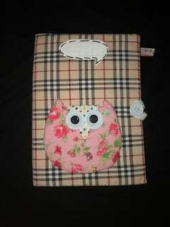 Cute Owl Notebook with FREE CUSHION!