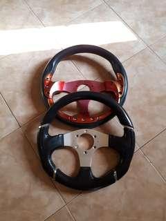 Steering sport 12 inci rm30 dua barang