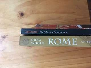 Ancient History books