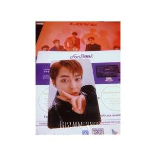 EXO Xiumin Official Photocard from Love Shot album