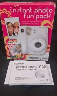 Instax mini 7S fujifilm camera