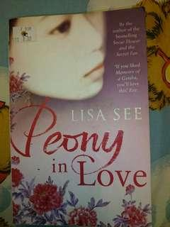Peony in Love by Lisa See #Apr10