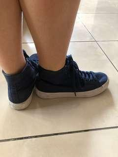 Adidas highcut sneakers size 8