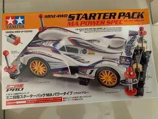 Tamiya Mini 4wd Starter Pack MA POWER SPEC