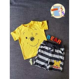 Disney Baby - Winnie The Pooh Boy's Set (Authentic)