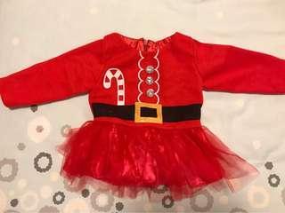 聖誕節公主裙
