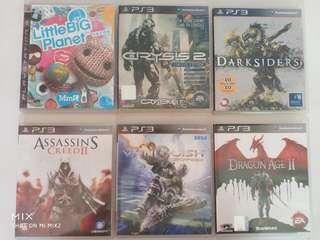 Playstation PS3 Games at $8 each