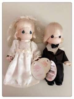 Precious Moments Figurine Wedding Couple