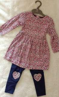 Dress and Legging Mothercare
