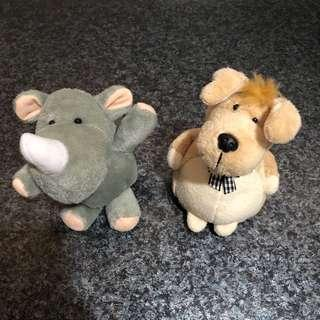 Dog & Rhino