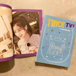 TWICE TV6 SINGAPORE DVD ALBUM (NO POSTCARDS)