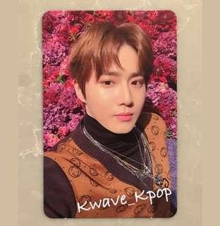 EXO (Don't Mess Up My Tempo) SUHO OFFICIAL PHOTO CARD NEW