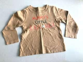 Long sleeve top - Mothercare (9-12 mths)