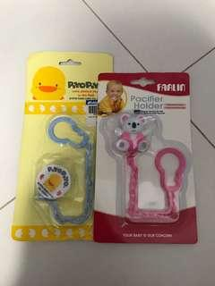 <Price for all> Soother / Pacifier Clips