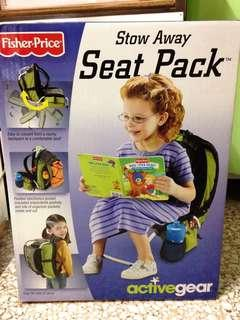 小童坐椅兩用背包 Fisher-Price Stow Away Seat Pack