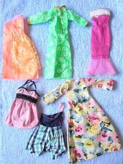 15 Pcs. Baju Ala Barbie