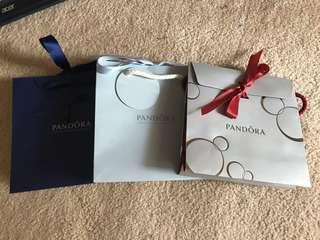 Pandora Christmas Bags