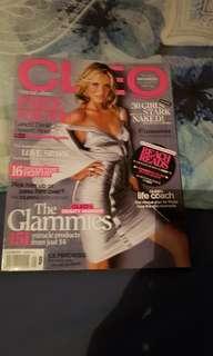 Cleo Magazine. Cameron Diaz
