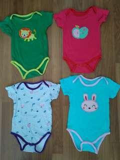 Baby Rompers (4pcs)
