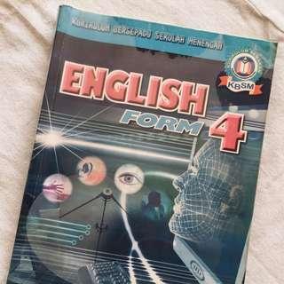 English textbook (form4)