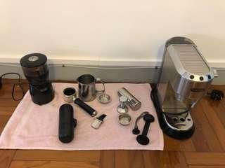 Delonghi Espresso and Coffee Maker